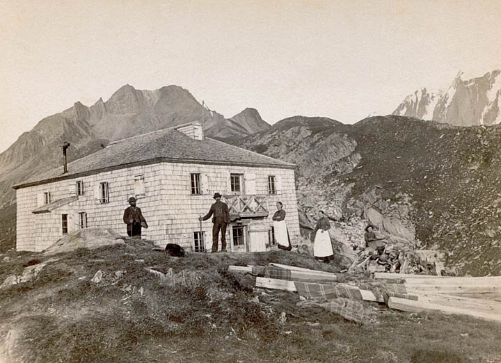 Pfitscherjoch-Haus 1888