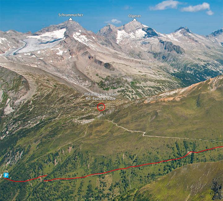 Cima delle Cenge, 3097 m