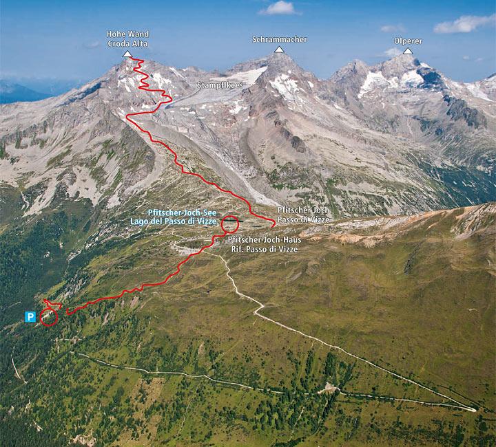 Croda Alta, 3289 m